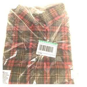 LL Bean Men's Plaid Button Down Shirt